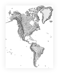 Shaded Relief Archive